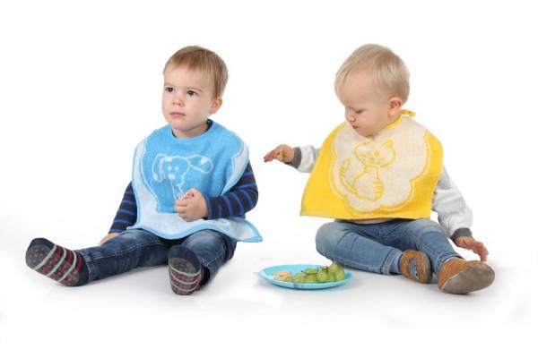Babylätzchen XXL mit Motiv - Frotteelätzchen