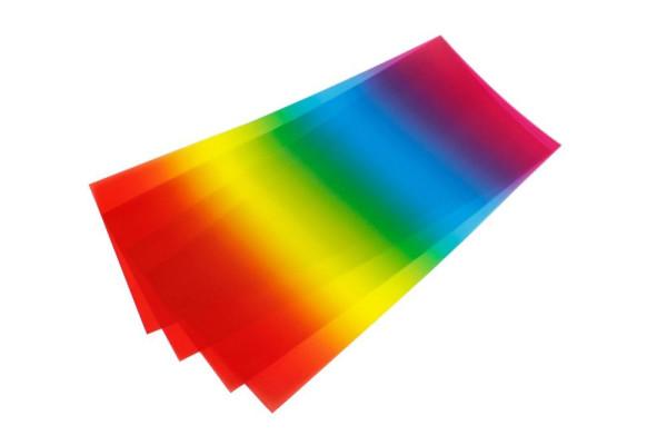 Laternenpapier gross, 25er Set - ideal für Regenbogenlaternen
