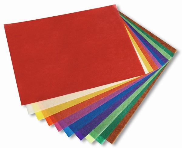 Transparentpapier 25 Blatt - 70 x 100 cm - Drachenpapier