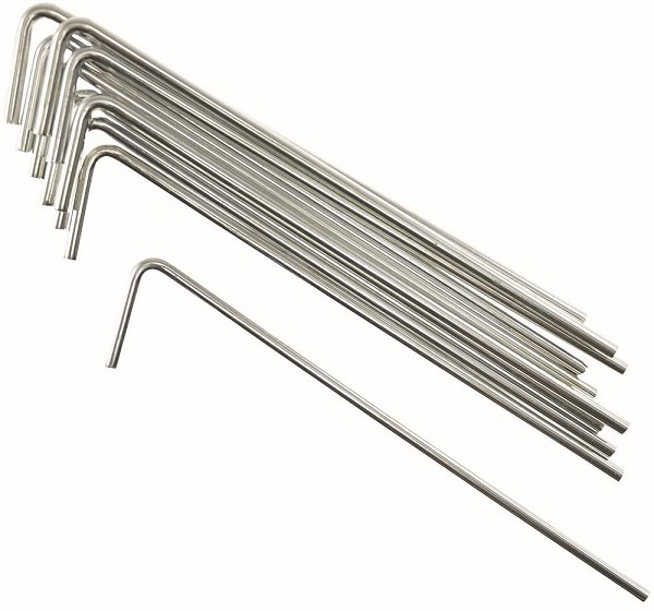 Metallheringe - Zeltheringe 10er Pack