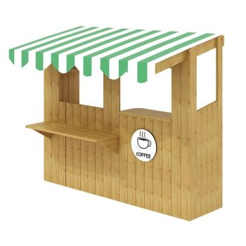 Outdoor Snack Bar - Kiosk