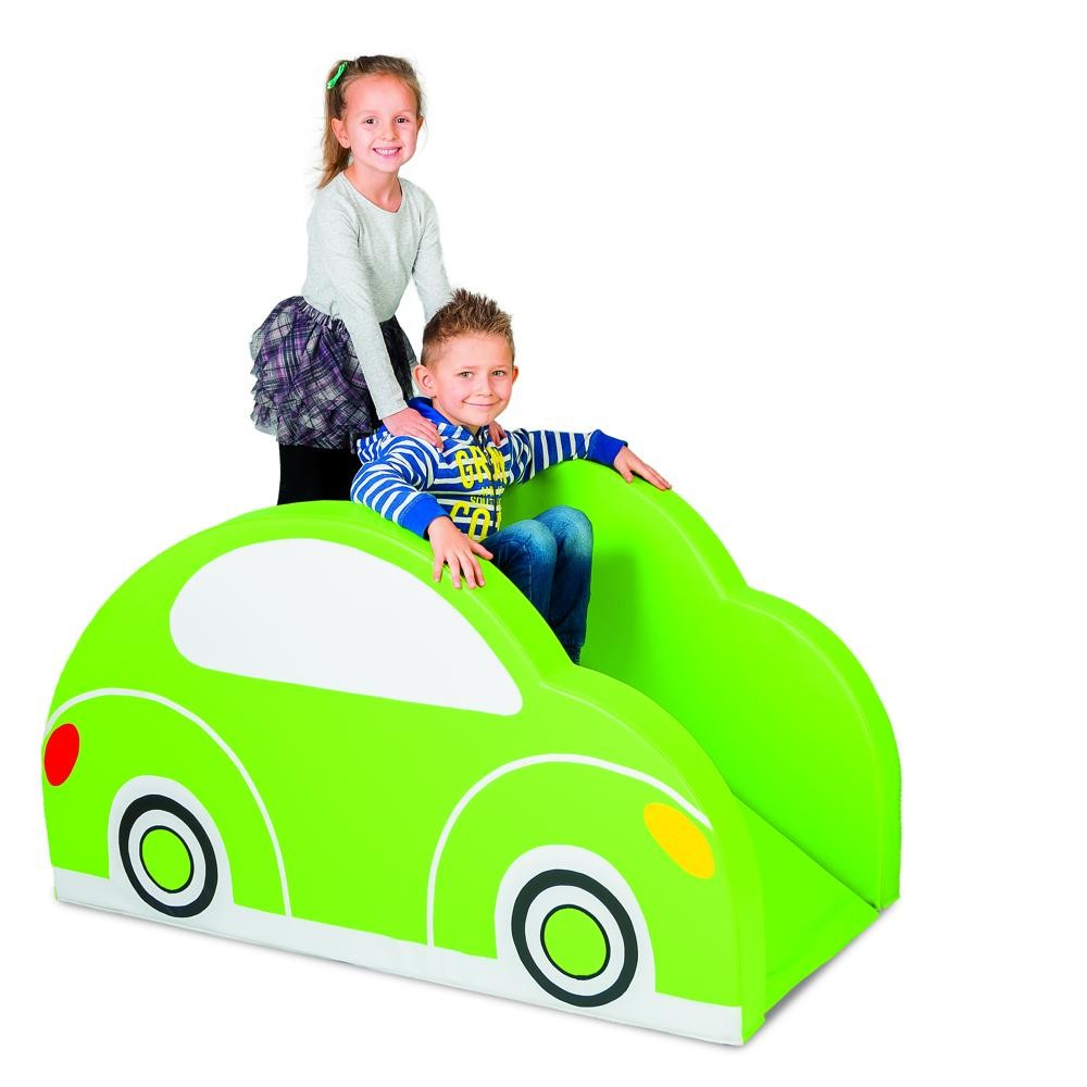 schaumstoffrutsche auto kinder rutsche kletter. Black Bedroom Furniture Sets. Home Design Ideas