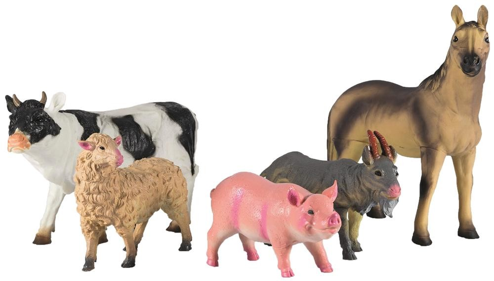 Bauernhoftiere Zum Spielen